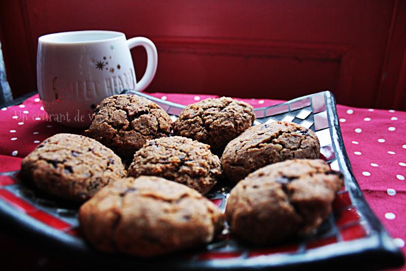 Cookies ultra moelleux à l'okara {sans gluten}