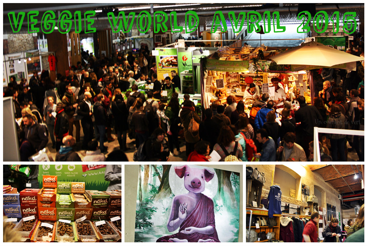 Le 1er Veggie World Paris