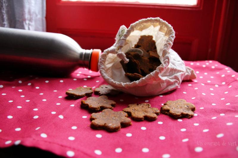 Petits biscuits fumés véganes