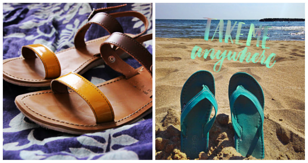 2 paires de chaussures véganes pour l'été