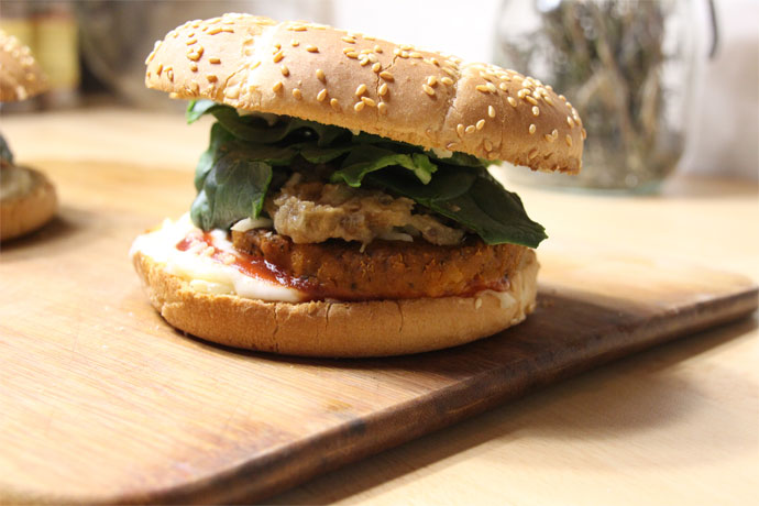 Burger végétal express