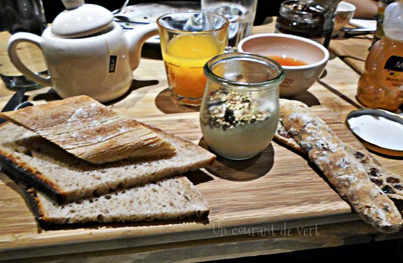 Au pain quotidien: un brunch végane