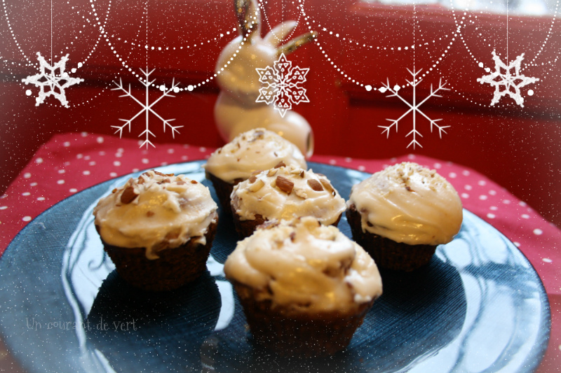 Cupcakes de Noël sans gluten
