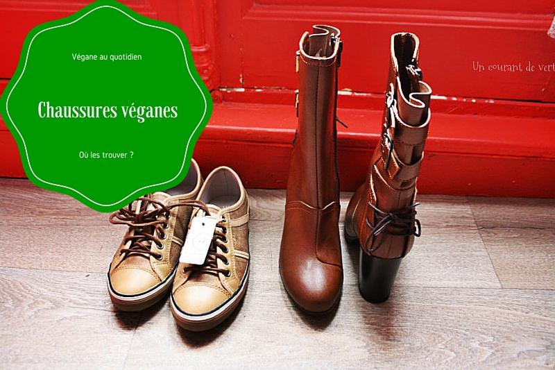 Où trouver des chaussures véganes ?