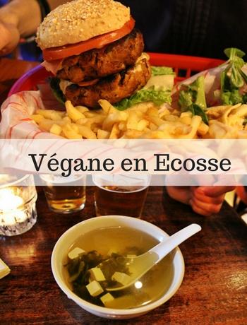 Où manger végane en Ecosse ?