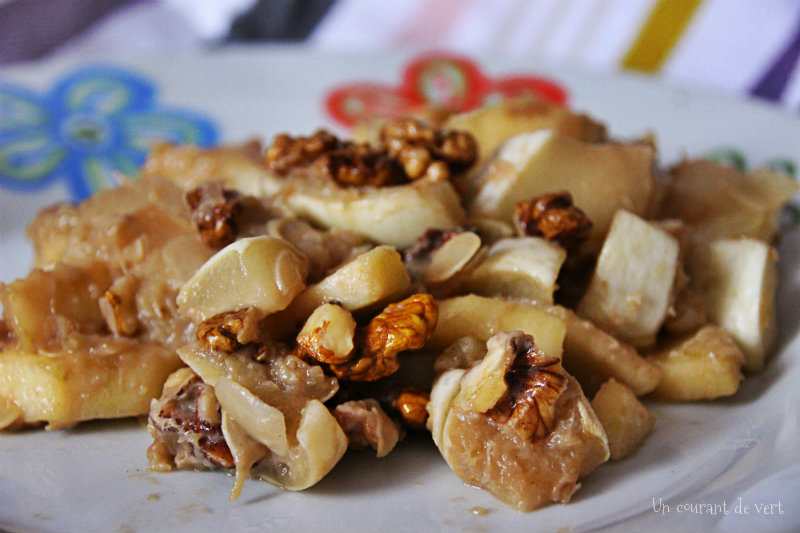 Pâtisson, pomme et noix : l'automne est là !