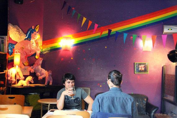 Le liquium à Lille : bar à licornes végane