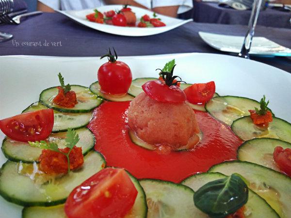 J'ai testé un repas végane à La table de Florensac