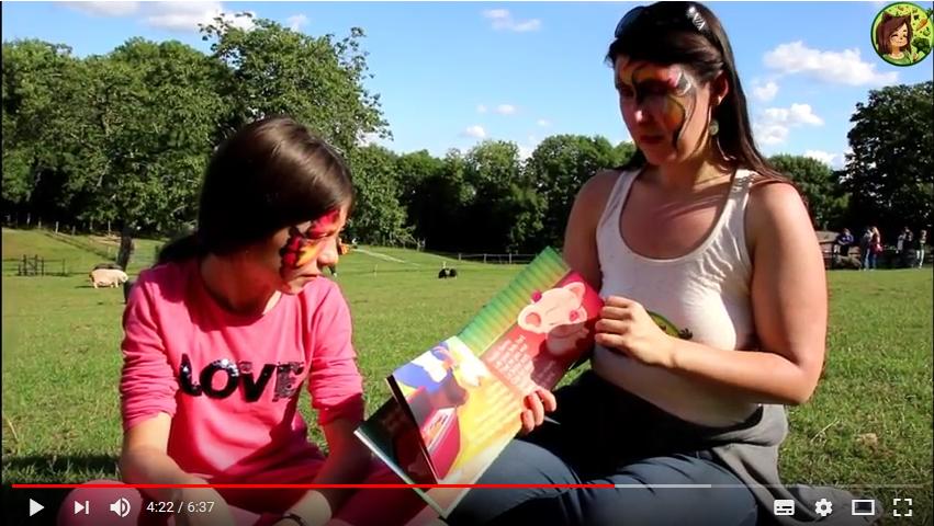 Pouiki, l'histoire d'un cochon de ferme expliquée aux enfants