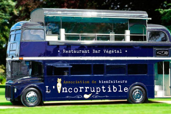 Un bus incorruptible et végane à Compiègne