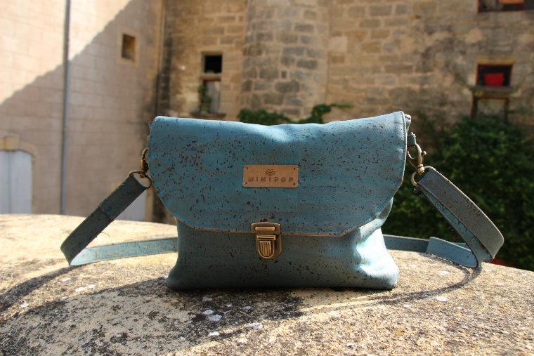 Mon sac en liège Minipop, végane et éthique