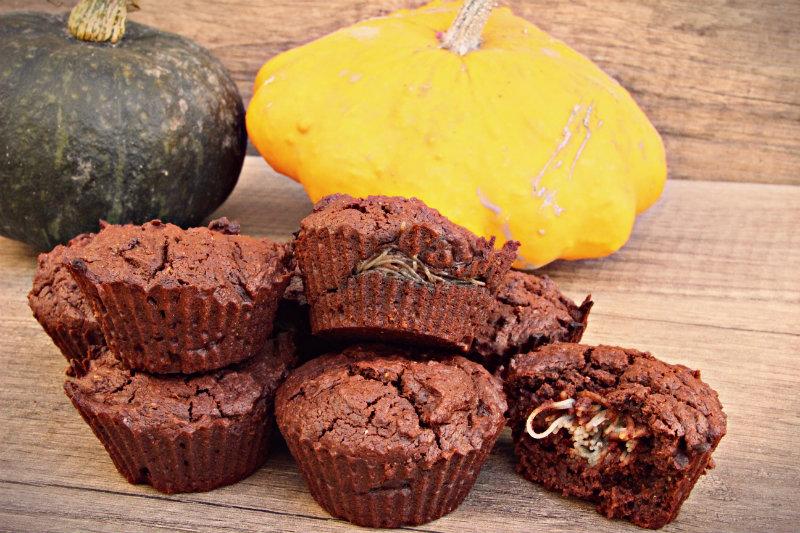 Muffins végétaliens surprises pour Halloween