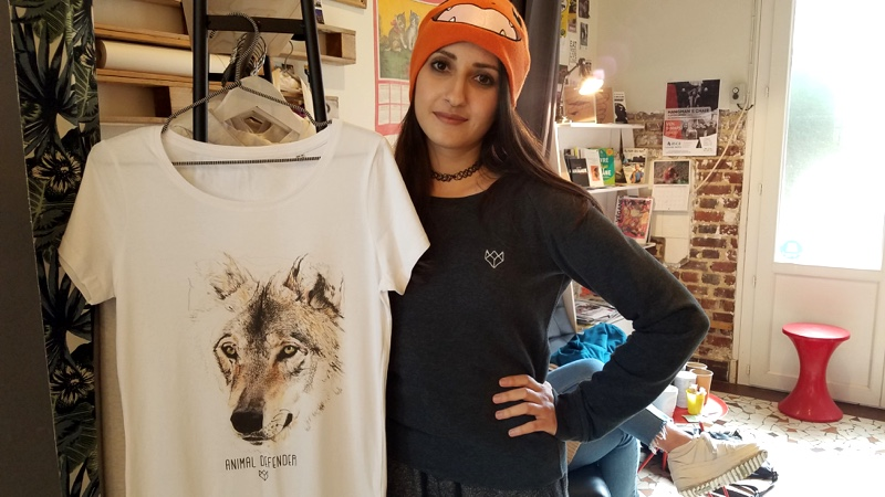 La mode engagée avec in Wolf we trust