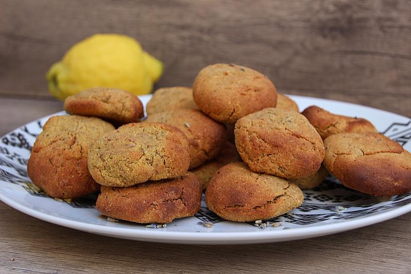 Biscuits lavande et citron (IG bas)