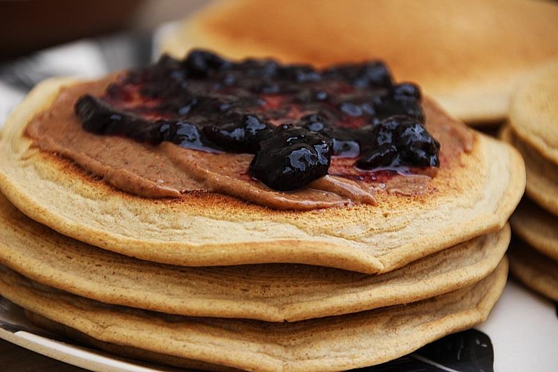 Pancakes végétaliens IG BAS